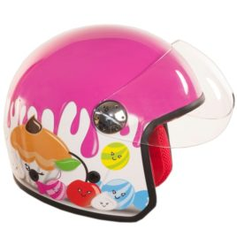 CASCO BIMBA JUNIOR BIANCO/ROSA GIRL TG.L CM 52 VISIERA ART 77446829