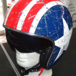CASCO JET Origine Sprint Rebel Star VISIERINO SCURO  art. 2025370181003