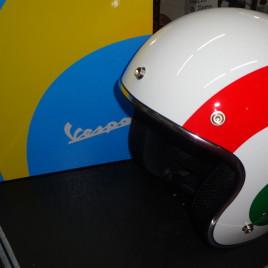 NUOVO CASCO VESPA NAZIONI ITALIA TAGLIA L 3 BOTTONI ORIGINALE VESPA 606378M04I