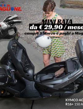 Kymco Agility 150i R16+ ABS Euro4
