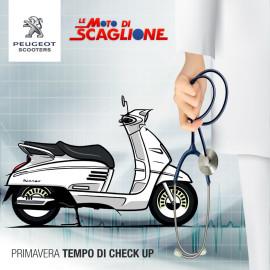 Check Up di Primavera Peugeot Scooter!
