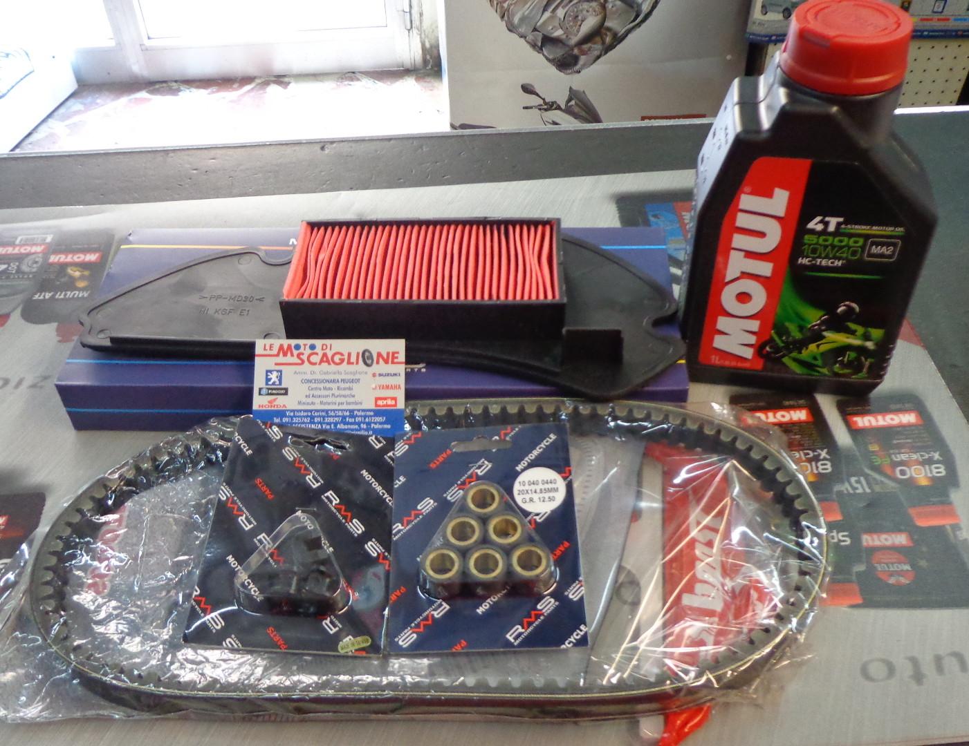 Kit Tagliando Completo Per Honda Sh 125 150 Le Moto Di Scaglione