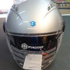 CASCO BASIC PIAGGIO D – JET GRIGIO – BIANCO NERO OPACO ORIGINALE PIAGGIO 605568M