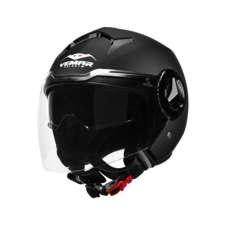 casco-moto-jet-vemar-breeze-doppia-visiera-nero-opaco