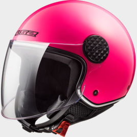 CASCO LS2 OF558 SPHERE LUX GLOSS PINK ROSA LUCIDO