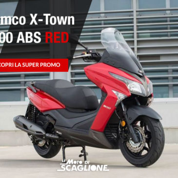 Promo Kymco Xtown 300 RED con ABS