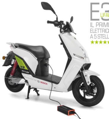 Lifan E3 scooter elettrico
