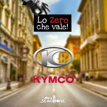 """campagna KYMCO """"INTERESSI ZERO – LO ZERO CHE VALE"""""""