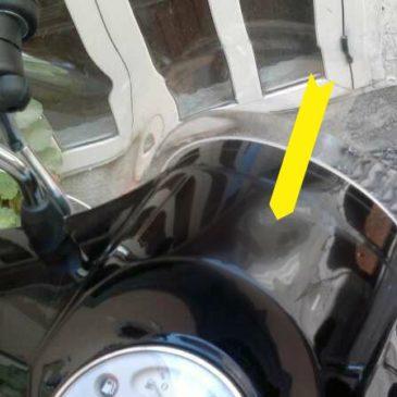 Deformazione da calore del cruscotto… Potrebbe essere il parabrezza!