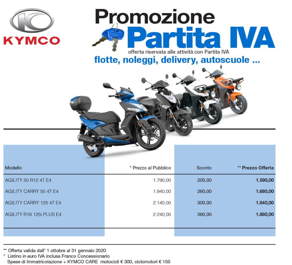 promozioni scooter p.iva