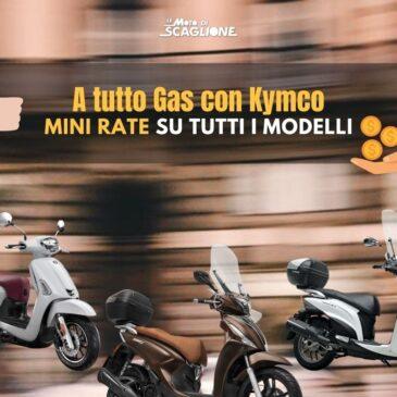Dopo la staccata, una nuova opportunità con KYMCO!